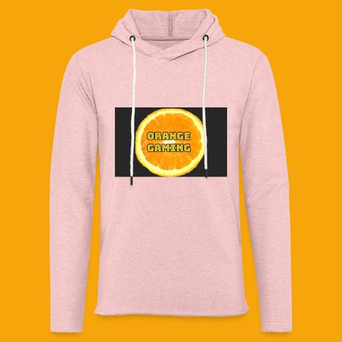 Orange_Logo_Black - Light Unisex Sweatshirt Hoodie