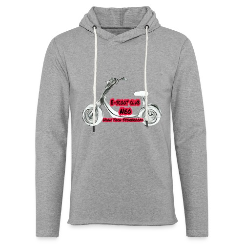 Neorider Scooter Club - Sweat-shirt à capuche léger unisexe