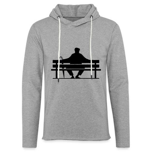 Benchwarmers bench - Lätt luvtröja unisex