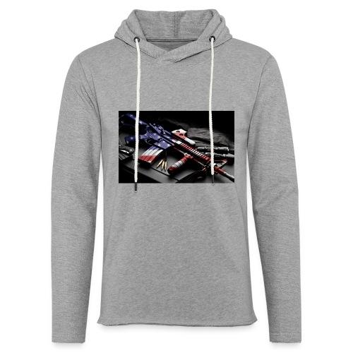American Gangster - Leichtes Kapuzensweatshirt Unisex