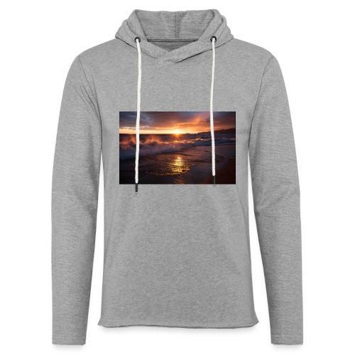 Magic sunset - Sudadera ligera unisex con capucha