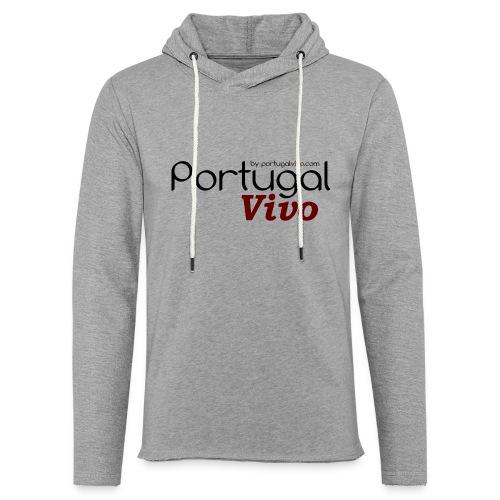 Portugal Vivo - Sweat-shirt à capuche léger unisexe