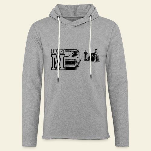 The Luxury M - Let sweatshirt med hætte, unisex