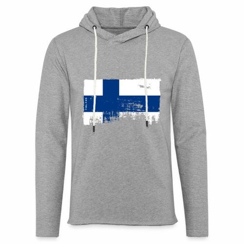 Suomen lippu, Finnish flag T-shirts 151 Products - Kevyt unisex-huppari