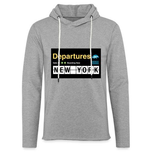 Departures Defnobarre 1 png - Felpa con cappuccio leggera unisex
