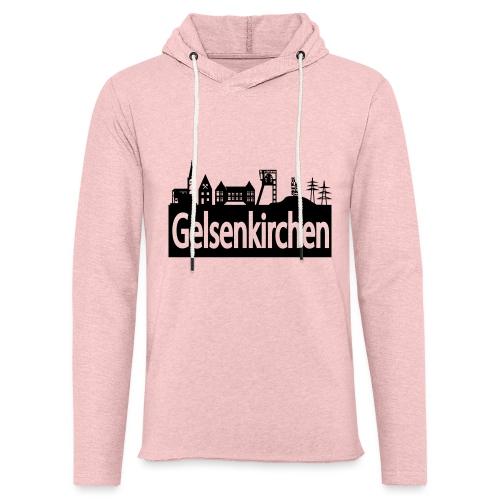 Skyline Gelsenkirchen - Leichtes Kapuzensweatshirt Unisex