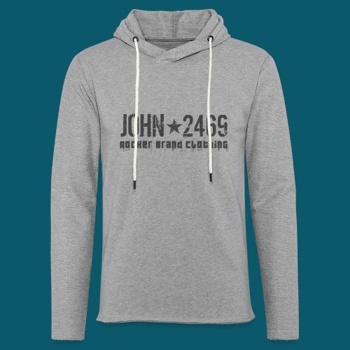 JOHN2469 prova per spread - Felpa con cappuccio leggera unisex