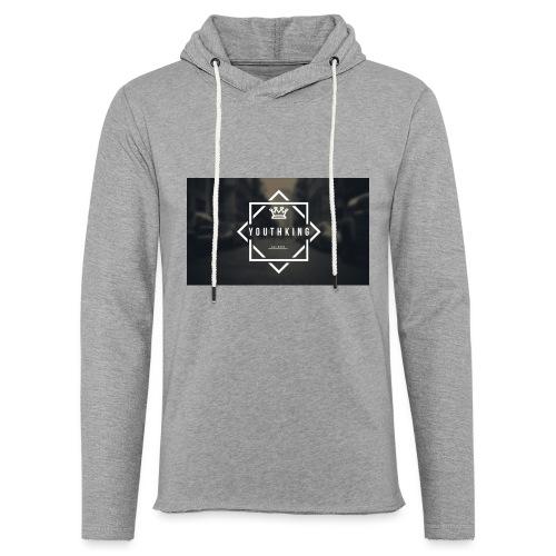 Youth King logo - Light Unisex Sweatshirt Hoodie