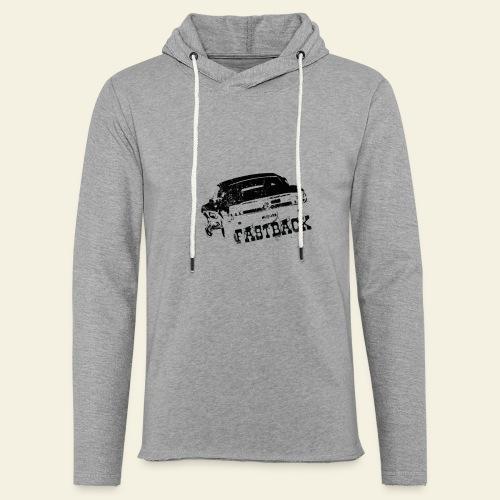 67 Fastback - Let sweatshirt med hætte, unisex