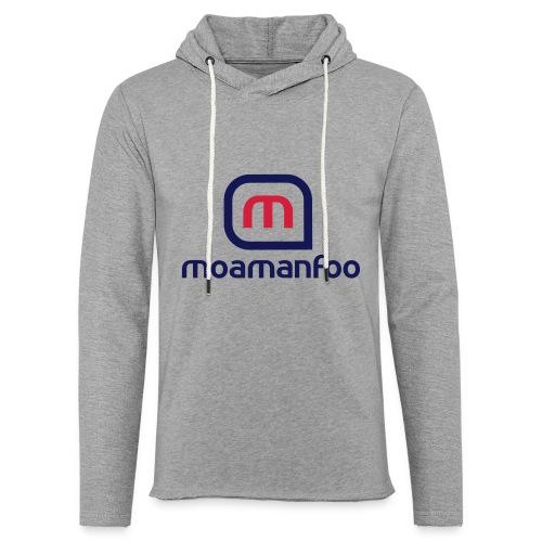 Moamanfoo - Sweat-shirt à capuche léger unisexe