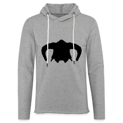 Nord Warrior Helm T-Shirt - Felpa con cappuccio leggera unisex