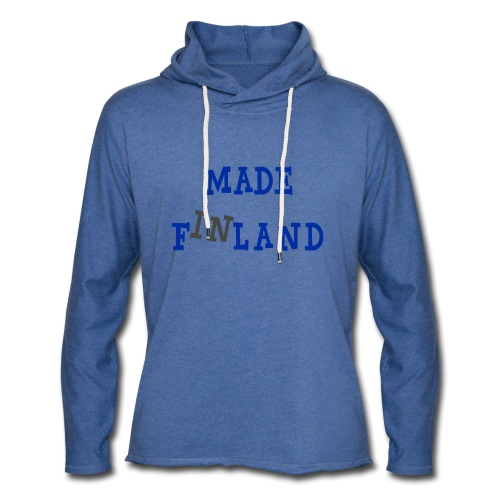 Made in Finland - Kevyt unisex-huppari