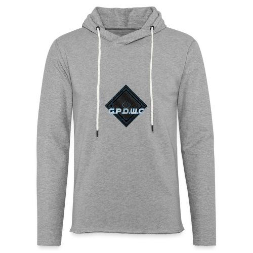 GPDWC - Let sweatshirt med hætte, unisex
