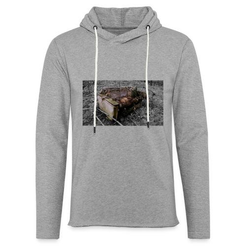 sofa 1 - Let sweatshirt med hætte, unisex