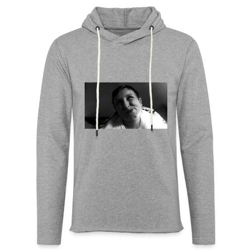 Basse Tshirt - Let sweatshirt med hætte, unisex