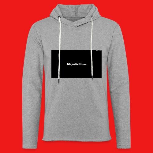 New - Let sweatshirt med hætte, unisex