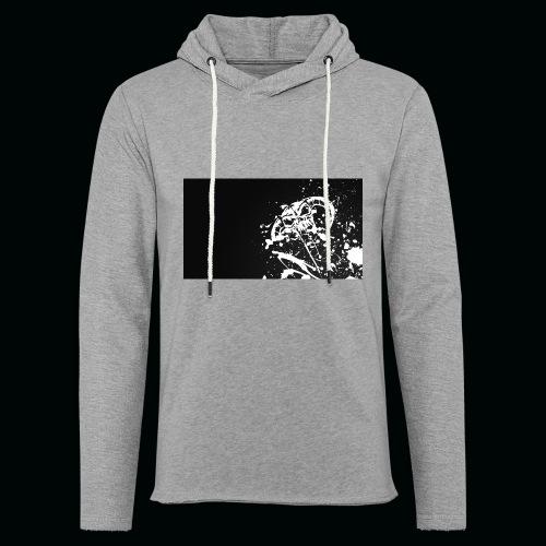 h11 - Sweat-shirt à capuche léger unisexe
