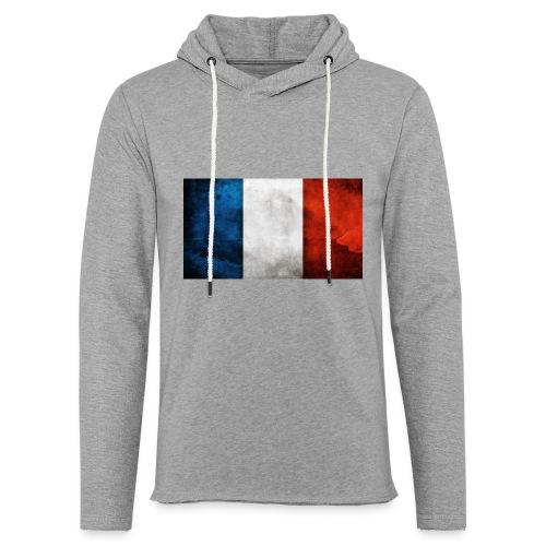 France Flag - Light Unisex Sweatshirt Hoodie