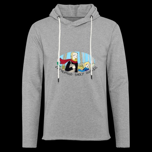 Fatherhood Badly Doodled - Light Unisex Sweatshirt Hoodie
