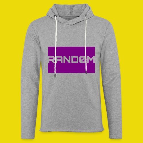 Random Logo - Light Unisex Sweatshirt Hoodie