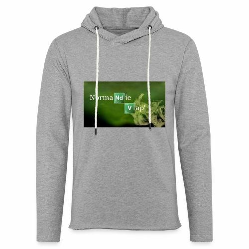 Normandie Vap' - Sweat-shirt à capuche léger unisexe