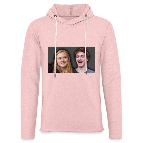 Profil billede beska ret - Let sweatshirt med hætte, unisex