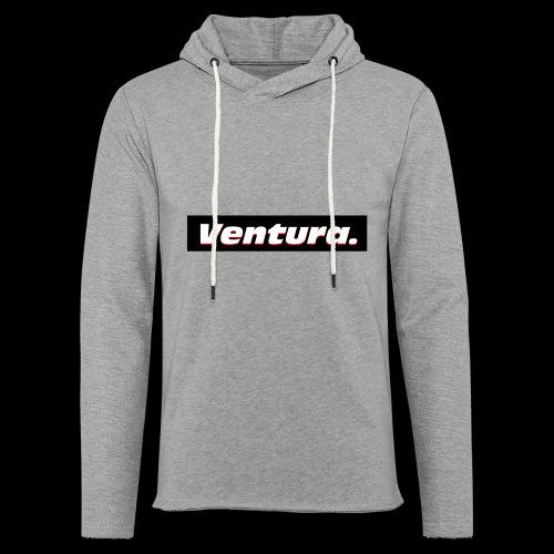 Ventura Black Logo - Lichte hoodie unisex