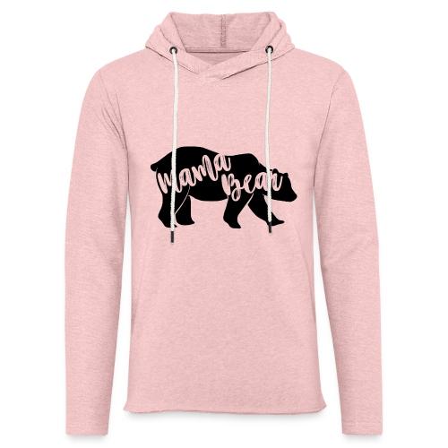 Mama Bear - für Eltern-Baby-Partnerlook - Leichtes Kapuzensweatshirt Unisex