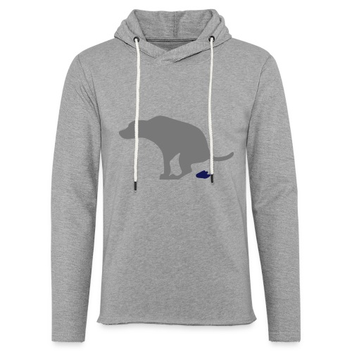 Hund - Leichtes Kapuzensweatshirt Unisex