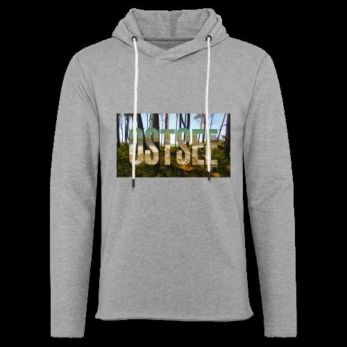 Ostsee - Leichtes Kapuzensweatshirt Unisex