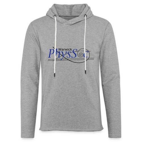 Official Warwick PhysSoc T Shirt - Light Unisex Sweatshirt Hoodie