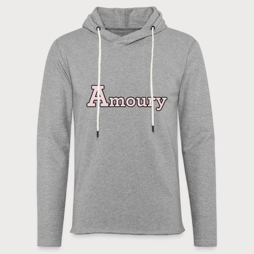 Amoury Logo - Leichtes Kapuzensweatshirt Unisex