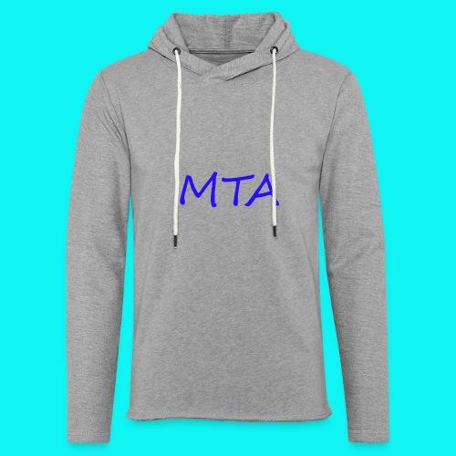 #MTA t-shirts - Let sweatshirt med hætte, unisex