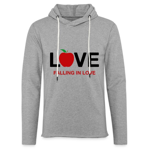 Falling in Love - Black - Light Unisex Sweatshirt Hoodie