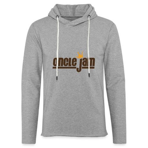 Oncle Jam horizontal brun - Sweat-shirt à capuche léger unisexe