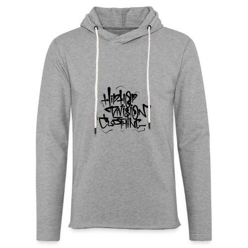 Hip Hop Division Clothing - Leichtes Kapuzensweatshirt Unisex