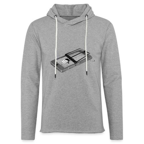 Smartphone Addiction - Light Unisex Sweatshirt Hoodie