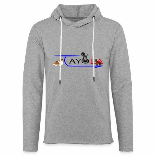 Tayola Black - Sweat-shirt à capuche léger unisexe