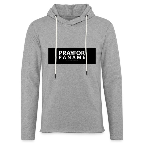 TEE-SHIRT HOMME - PRAY FOR PANAME - Sweat-shirt à capuche léger unisexe