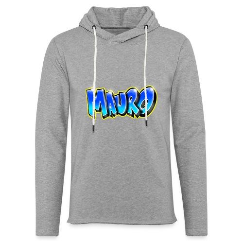 MAURO GRAFFITI NAME - Sweat-shirt à capuche léger unisexe