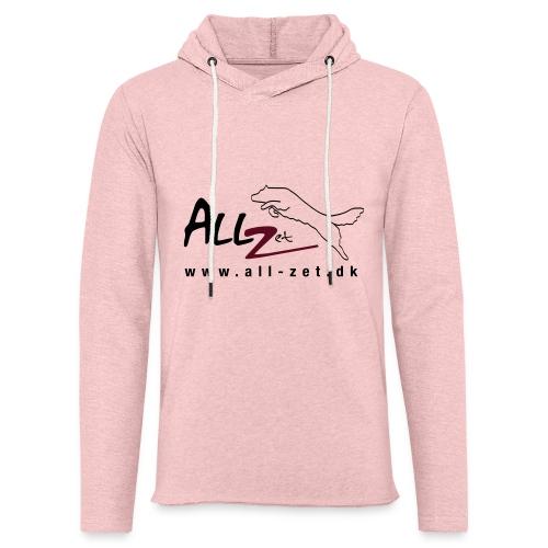 All Zet Logo - Let sweatshirt med hætte, unisex
