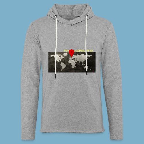 homeland my base - Leichtes Kapuzensweatshirt Unisex