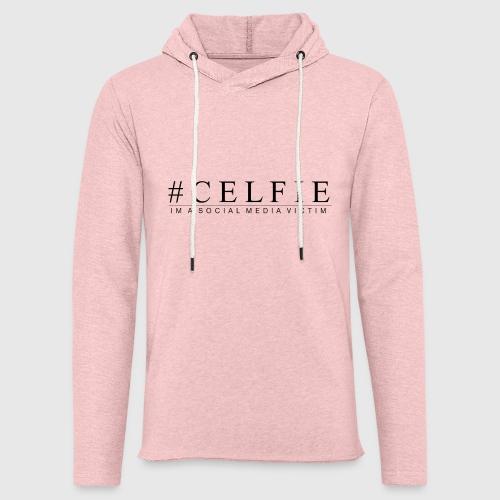 CELFIE - Let sweatshirt med hætte, unisex