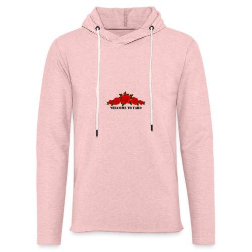 welcome to yard hoodie - Lichte hoodie unisex