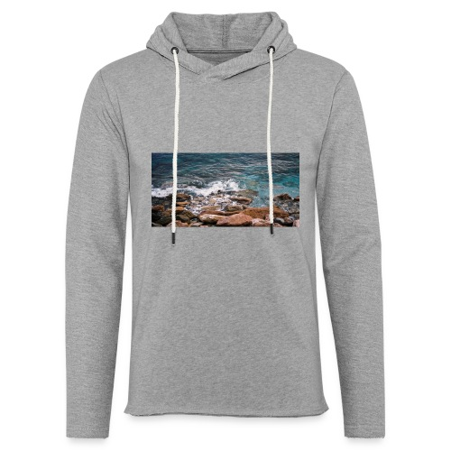 Handy Hülle Meer - Leichtes Kapuzensweatshirt Unisex