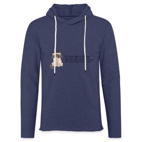 99 litle bugs of code - Lichte hoodie unisex