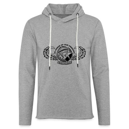 HAF tshirt back2015 - Light Unisex Sweatshirt Hoodie