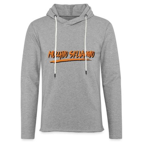 Mucchio Selvaggio 2016 Dirty Orange - Felpa con cappuccio leggera unisex