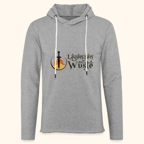 Legenden der Wüste - Leichtes Kapuzensweatshirt Unisex