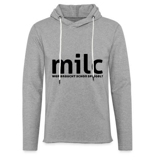 milc - Leichtes Kapuzensweatshirt Unisex
